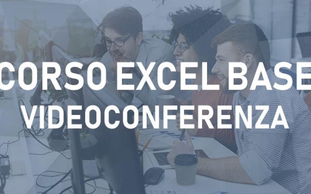 Microsoft Office Excel -20 Ore Videoconferenza