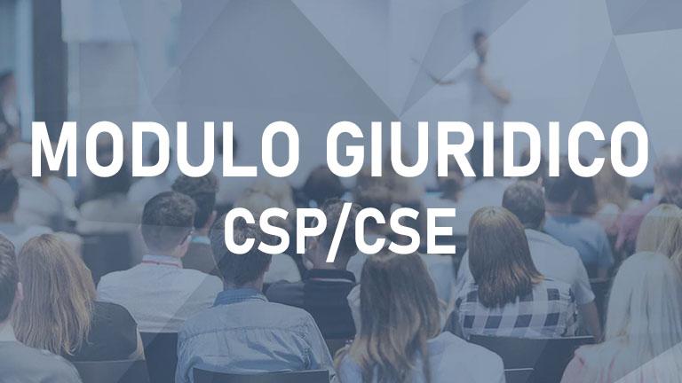 Modulo Giuridico CSP/CSE -V 2