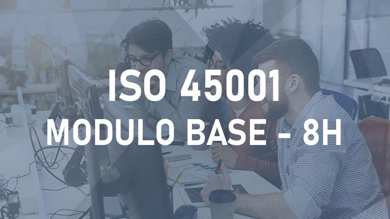 ISO 45001 - Modulo Base - 8h - 2°Edizione