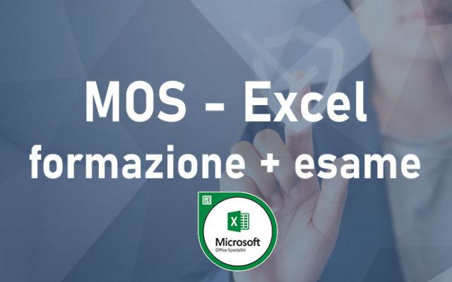 MOS - Microsoft Excel - 11H